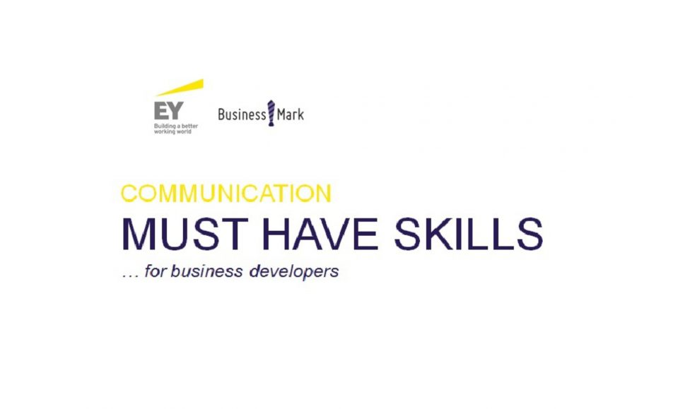 Communication must have skills…for business developers