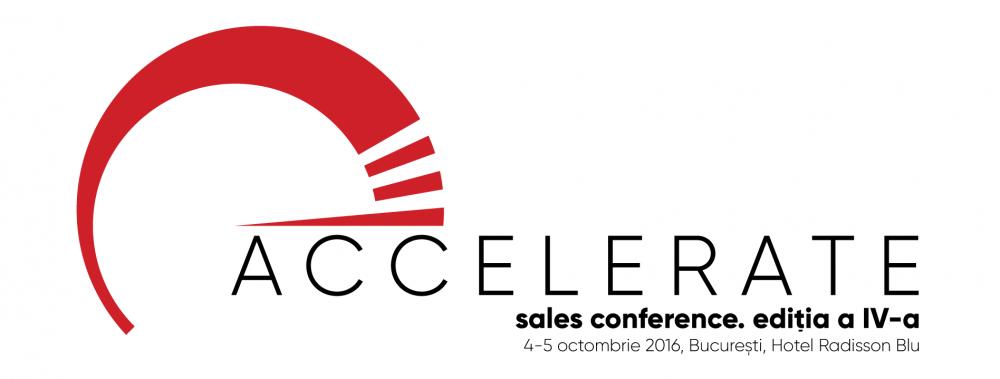 ACCELERATE. Sales Conference, ediția a IV-a